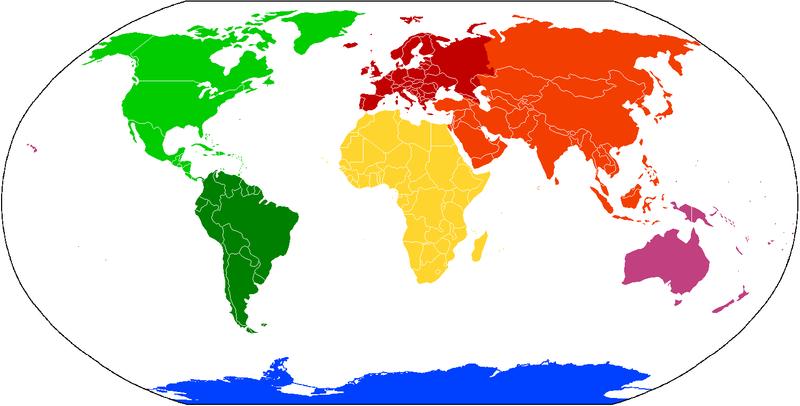 Stumme Karte Asien Lander Hauptstadte.Lander Nach Kontinenten Lexas Information