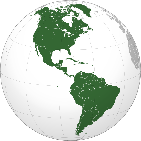 Datei:Americas (orthographic projection).svg