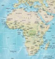 Landkarten von Afrika