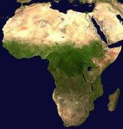 Satellitenbilder von Afrika