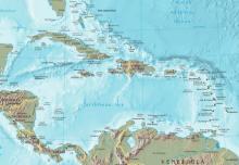 Karibik Ausschnitt