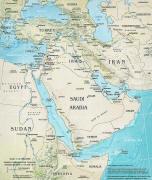 Landkarte Naher Osaten