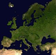 Satellitenbilder Europa