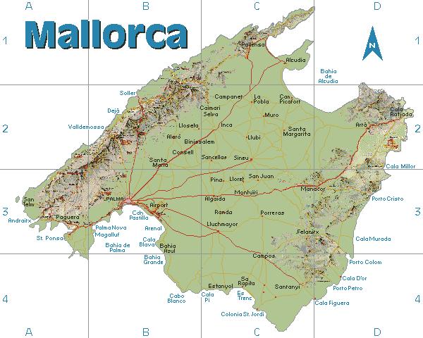 Mallorca Die Grosste Der Spanischen Balearischen Inseln