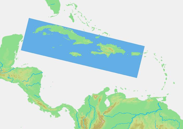 Kleine Antillen Karte.Die Grossen Antillen Eine Inselgruppe In Der Karibik