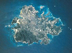 Satellitenbild von Antigua
